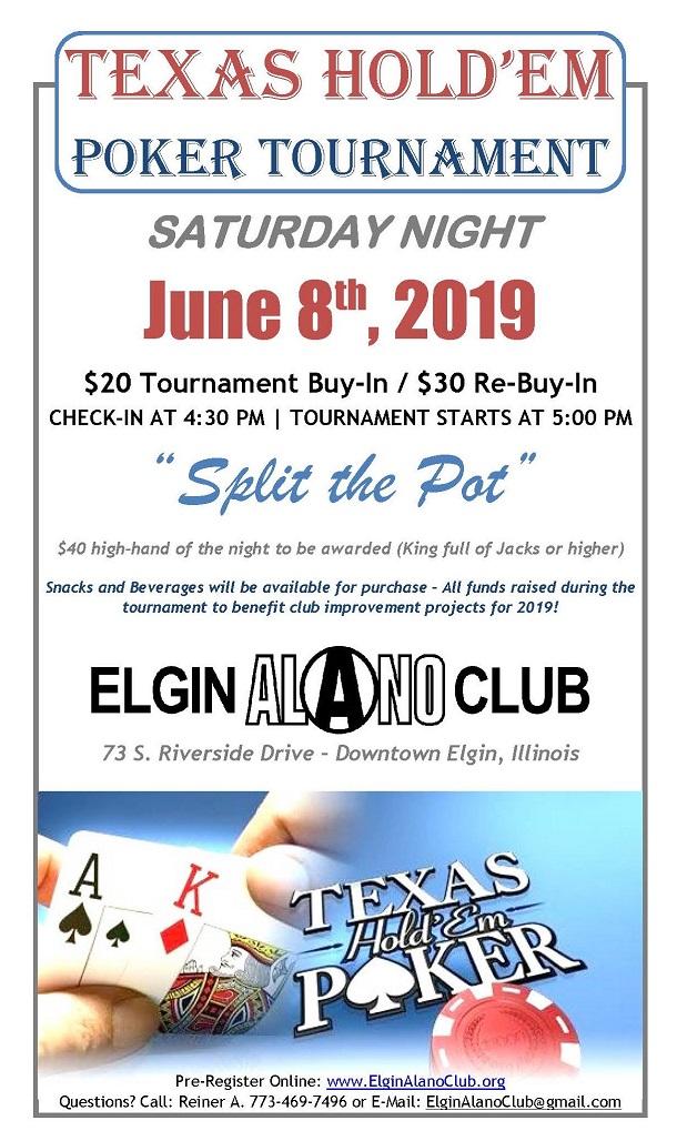 Texas Hold'em Poker Tournament 1