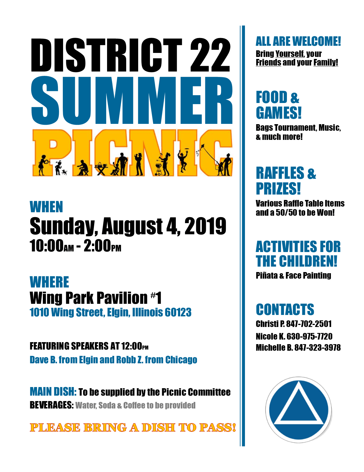 District 22 Summer Picnic 1