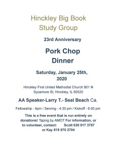 2020 Hinckley Pork Chop Dinner 5