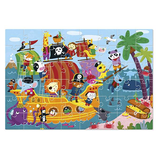 Puzzle gigante piratas