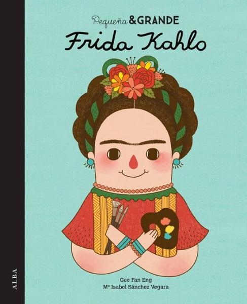 Libro pequena y grande Frida Kahlo