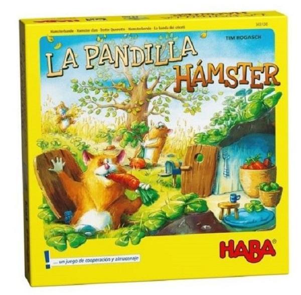 Juego la pandilla hamster de Haba