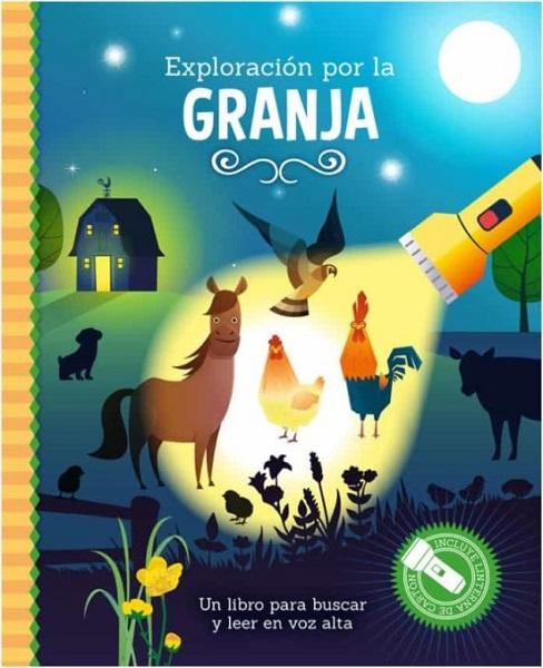 Libro linterna la granja