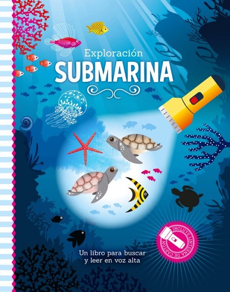 Libro linterna exploracion submarina