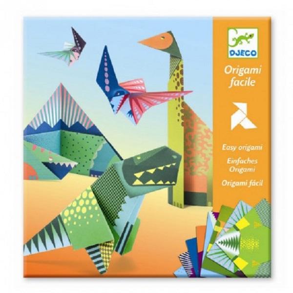 Origami dinosaurios djeco