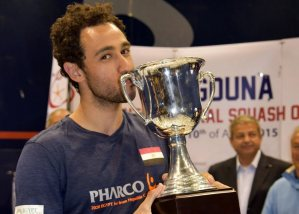 2015 : It's a hat-trick for Ramy