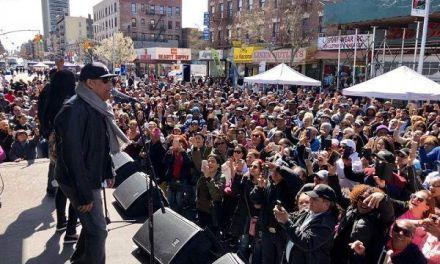 Dominicanos celebran el día de La Tierra con gran concierto de Rubby Pérez en Washington Heights organizado por el Concejal Ydanis Rodríguez