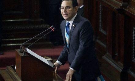 Presidente de Guatemala asistirá a la Cumbre del SICA en R.D.