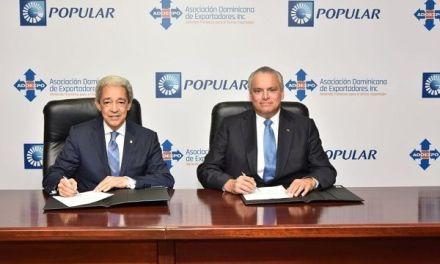 ProExporta Popular ha prestado RD$56,700 MM a exportadores