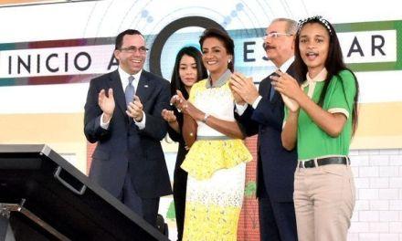 Presidente Danilo Medina deja iniciado año escolar con grandes novedades para elevar la calidad educativa