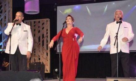Cecilia, Boruga y Cuquín, un lujo en el escenario