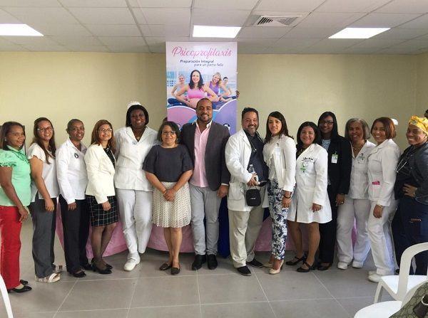 """Hospital Juan Pablo Pina pone en funcionamiento programa Psicoprofilaxis del parto """"Preparación integral para un parto feliz"""""""