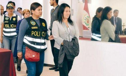 Keiko Fujimori será interrogada el próximo 18 de marzo por el caso Odebrecht