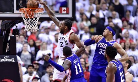 El Deporte miércoles, 08 de mayo de 2019 0 Comentarios Leonard y Siakam conducen la victoria de los Raptors 125-89