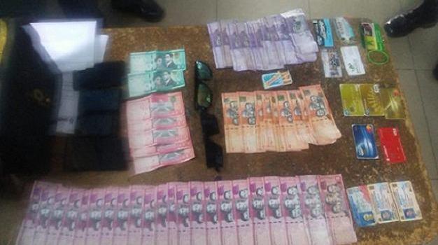 Dinero falsificado