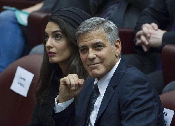 Clooney espera medios sean «más amables» con Meghan Markle