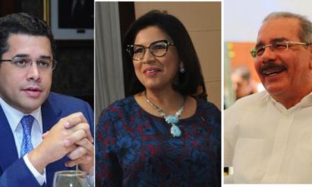 Margarita, Danilo y Collado, las figuras más populares