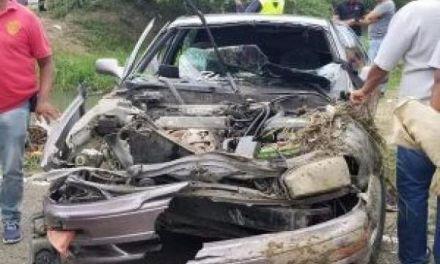 El Chofer del Carro donde murieron nueve personas Trataba de evadir controles militares