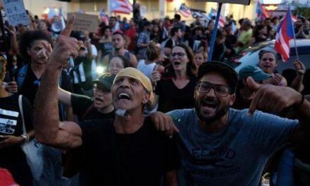 Protesta en Puerto Rico contra posible sucesora Rosselló
