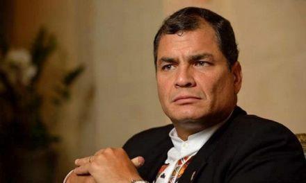Justicia de Ecuador ordena prisión preventiva para Correa
