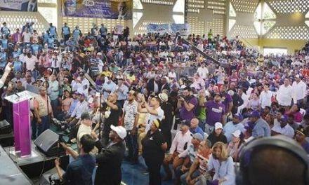 Francisco Domínguez Brito promete obras en el Cibao y dice viene sangre nueva