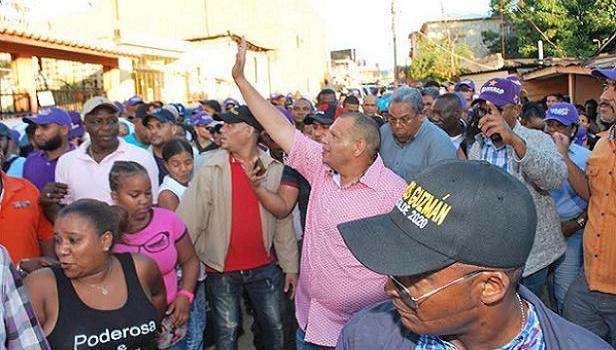 Carlos Guzmán, candidato alcalde PLD Santo Domingo Norte
