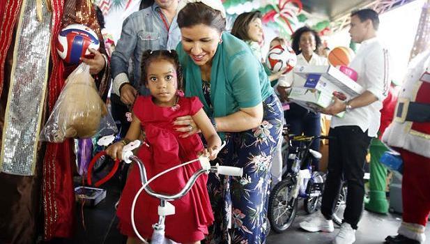 La vicepresidenta de la República Margarita Cedeño