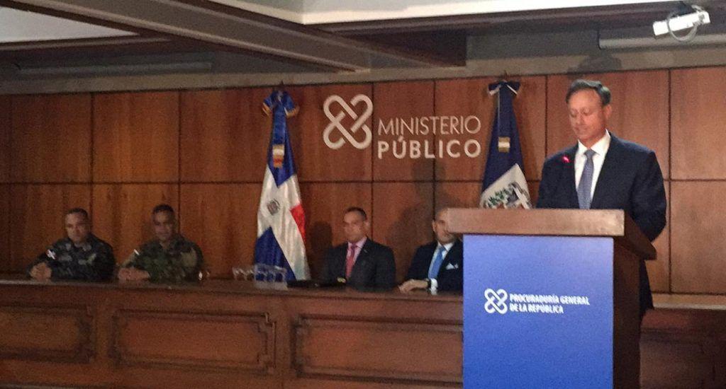 Procurador ofrece detalles apresamiento César Emilio Peralta
