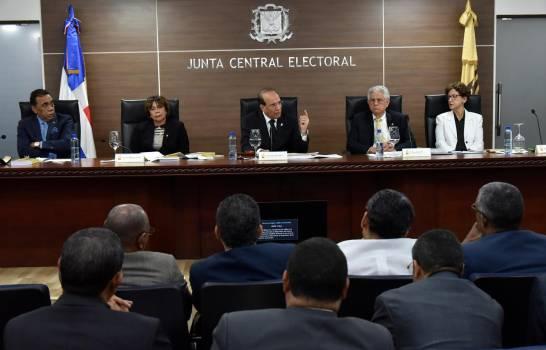 La JCE extiende hasta este viernes plazo para candidatos municipales