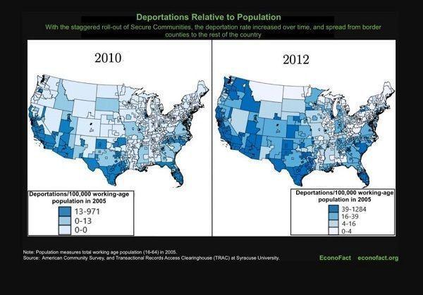 Las más de 450,000 deportaciones de S-Comm no hicieron comunidades seguras
