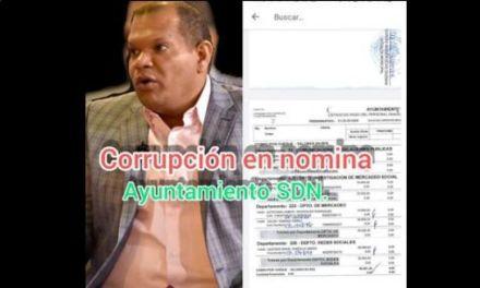 Denuncian irregularidades en nómina en Ayuntamiento Santo Domingo Norte