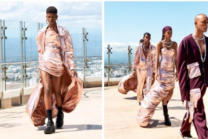 Keyther Estévez: Se pasea por la Semana de la Moda de Nueva York