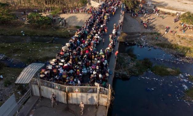 Refuerzan la frontera ante intención de haitianos de entrar al país en forma masiva por secuestros