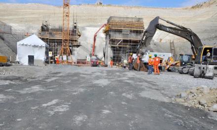 Consorcio asegura presa de Monte Grande avanza según cronograma