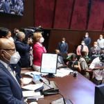 En caldeada sesión diputados extienden estado emergencia