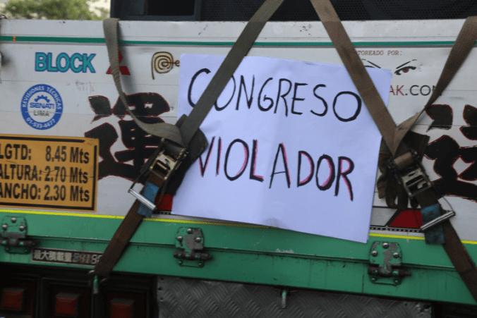 Congreso violador