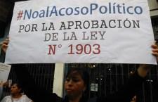 El acoso político contra las mujeres en Perú, es aceptado y tolerado