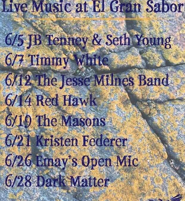 June's Live Music!