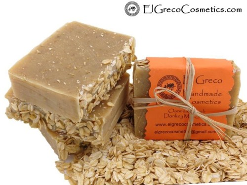 OATMEAL SCRUB DONKEY MILK SOAP