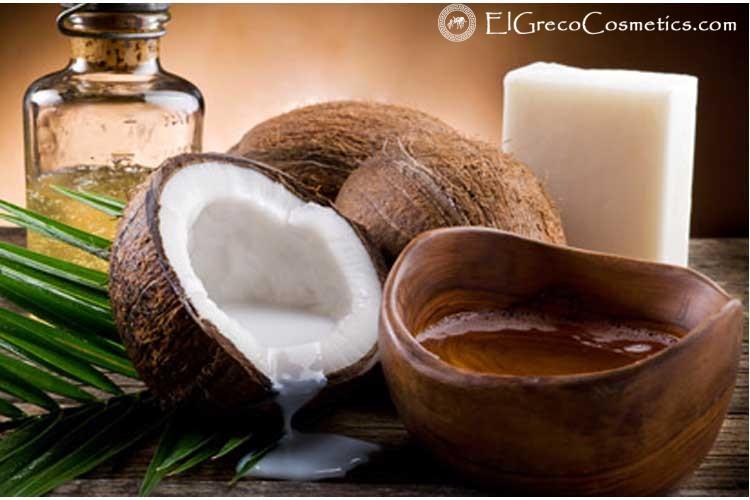 Coconut oil in handmade natural Donkey milk soaps01