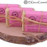3 pack White Natural Donkey milk soap