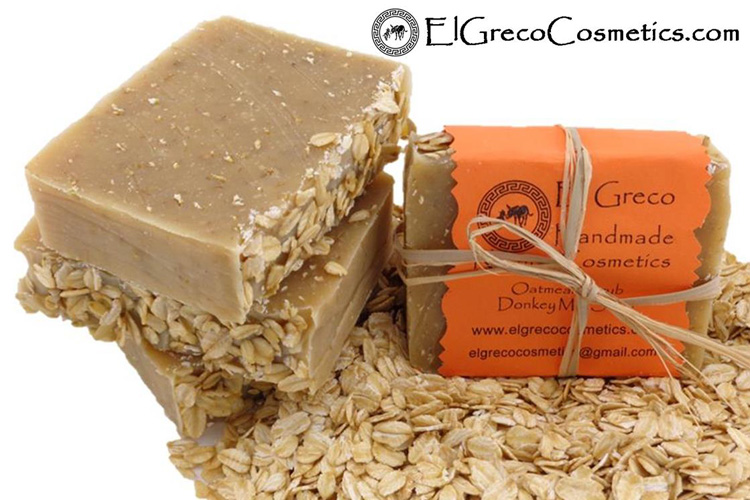 Why Oatmeal scrub donkey milk soap_01