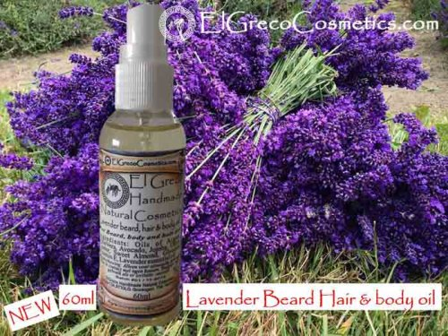 Lavender Beard Hair & Body oli_01