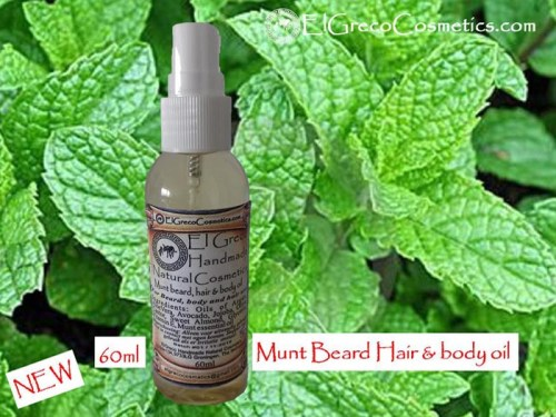 Munt Beard Hair & Body oil