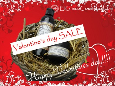 Valentine's day SALE Facial and Body Care