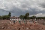 Cementerio Yaqui. Sonora