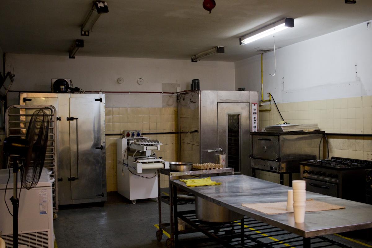 Panadería y cocina del centro Che Guevara