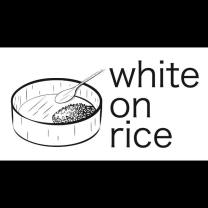whiteonrice