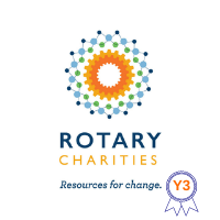 Business Champion Year 3 logo for Rotary