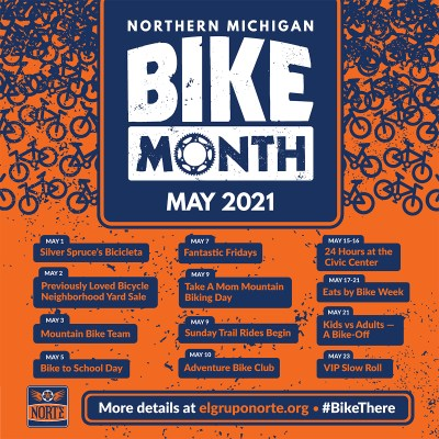 2021 Bike Month Poster